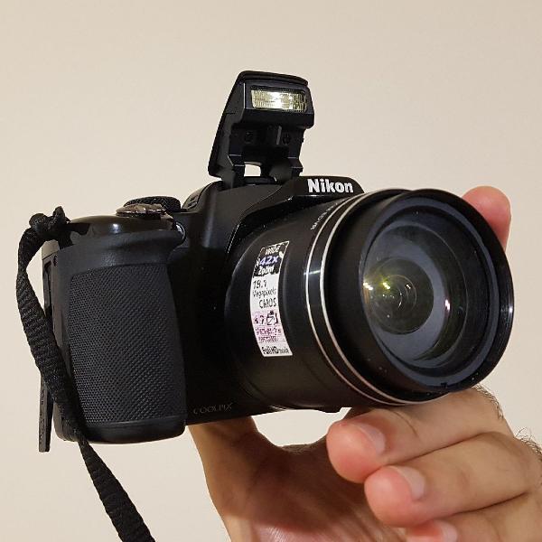 Câmera digital superzoom nikon coolpix p520 18.1 mp x42