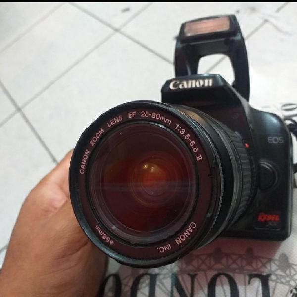Câmera fotográfica canon profissional