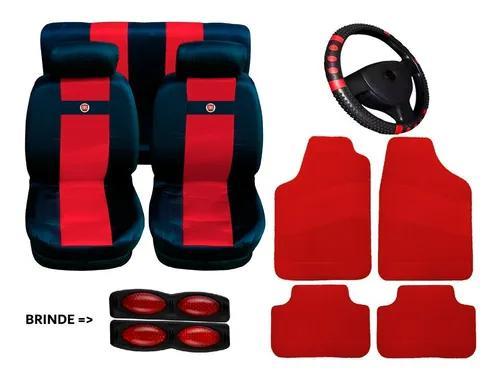 Fiat uno jogo capa para banco kit tapete automotivo volante