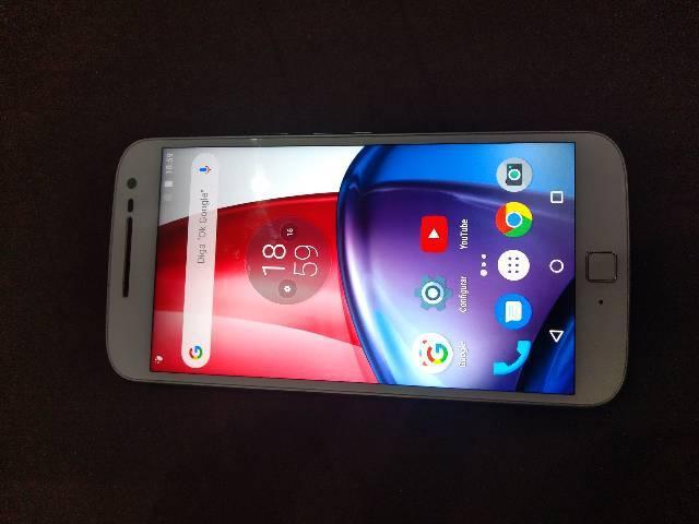 Motorola g4 plus perfeito estado!