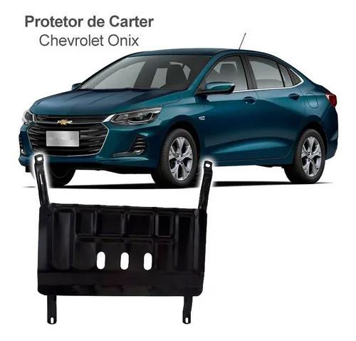 Protetor de carter peito de aço novo onix hatch turbo 2020