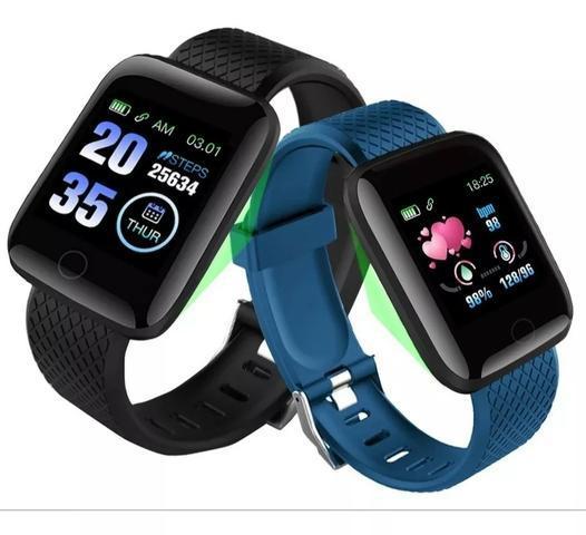 Relógio inteligente smart bracelet fitness android ios