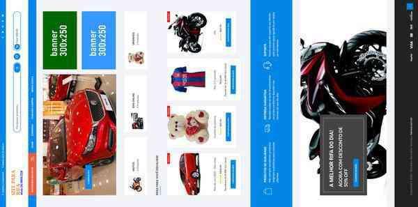 Site para rifa online, raffle, rifa de veículos