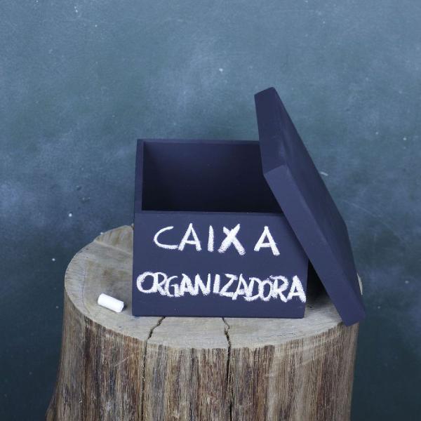 Caixa organizadora mdf
