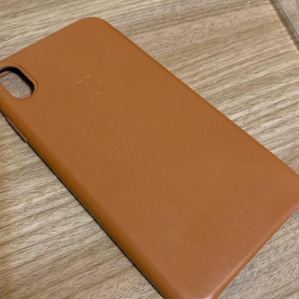 Case couro iphone xs max