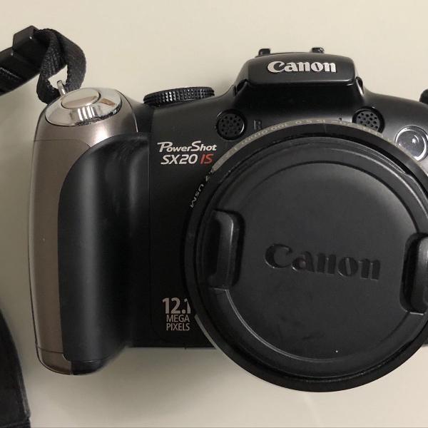 Máquina fotográfica canon powershot sx20 is