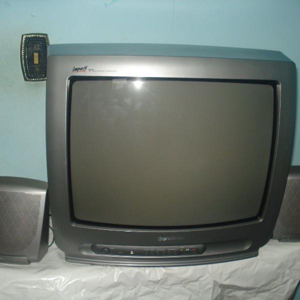 Tv - gradiente impact mod. m20 color true stereo ótimo