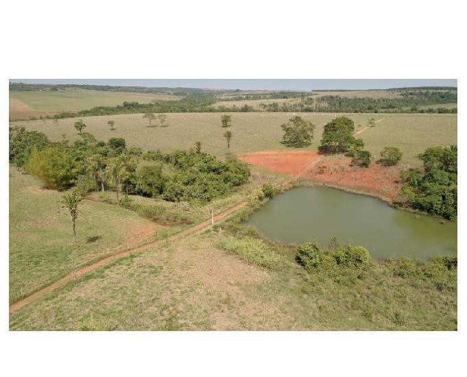 160 alqs planta toda logística água plana corumbá go
