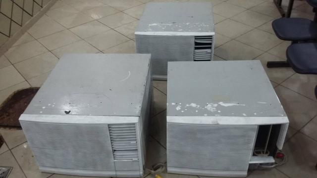 3 ar condicionados de janela spring 30000btus (aceito