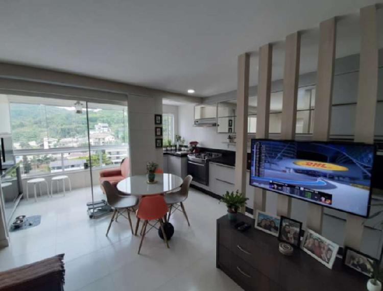 Apartamento a venda com 02 dormitórios mobiliado morretes