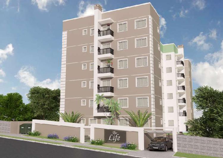 Apartamento com 54m², 2 quartos no bairro tingui - curitiba