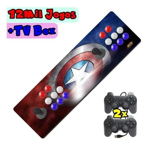 Arcade Portátil Com 12500 Jogos + 2 Controles Promoção !