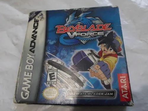 Beyblade vforce original completo para game boy advance