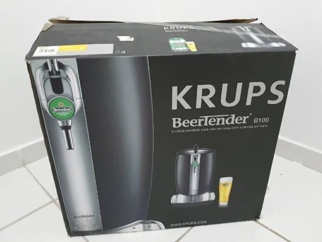 Chopeira beertender heineken b100 - krups 110v