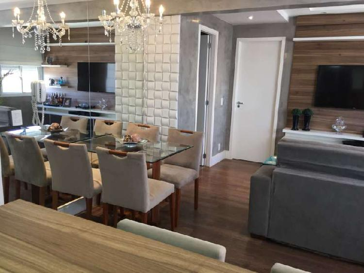 Excelente apartamento de 3 dormitórios decorado e