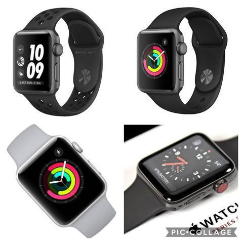 Loja física. Apple Watch séries 3 38 42mm novos lacrados 1