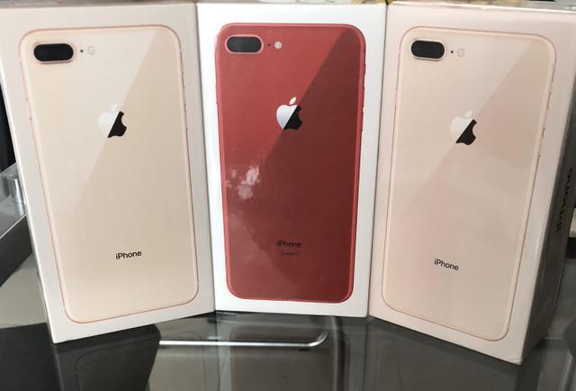 Loja física. iPhone 8 PLUS 64/128Gb novos, lacrados, 1 ano