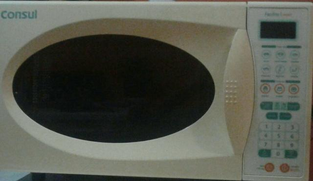 Microondas consul 25lt 127ws semi novo