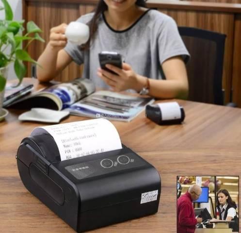 Mini impressora portátil wifi para comércio ?