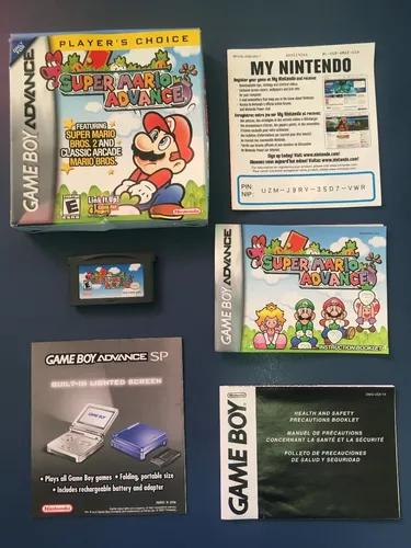 Super mario advance nintendo gameboy - completo original