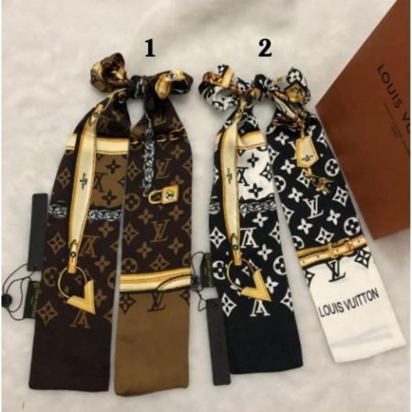 Bandana lenço para bolsa / pescoço 9 cores disponíveis