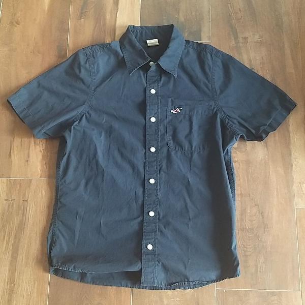 Camisa hollister azul