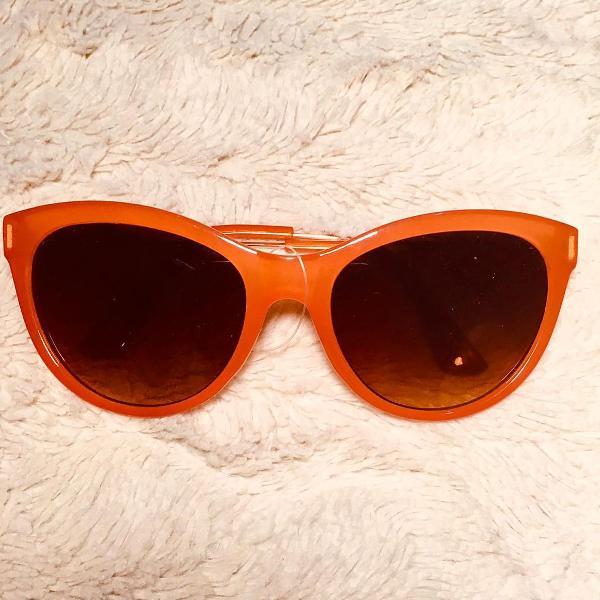 Culos de sol retro laranja