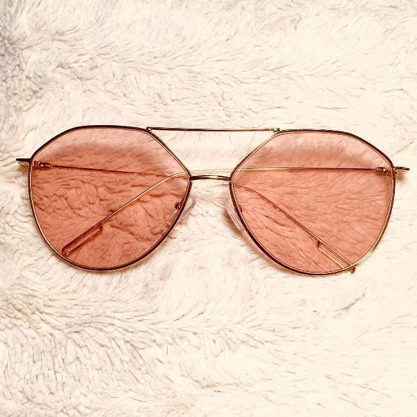 Culos de sol retro rosa