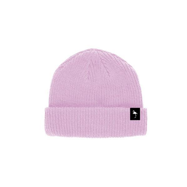 Gorro touca beanie rosa amarillo