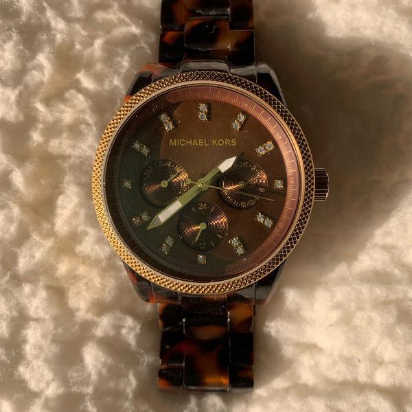 Relógio michael kors tartaruga