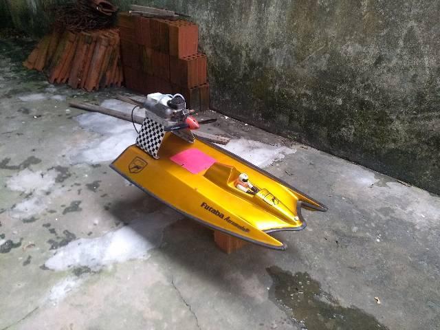 Aero barco motor 61 glow