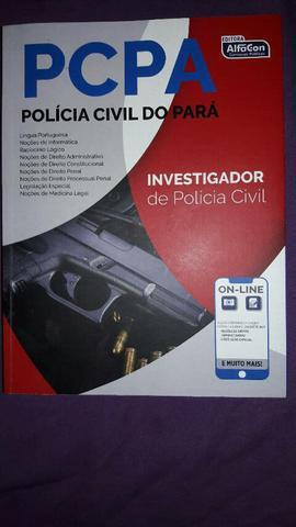 Apostila pc pa - investigador - alfacon