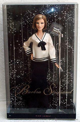 Barbie barbra streisand cantora edição limitada 2009 raro