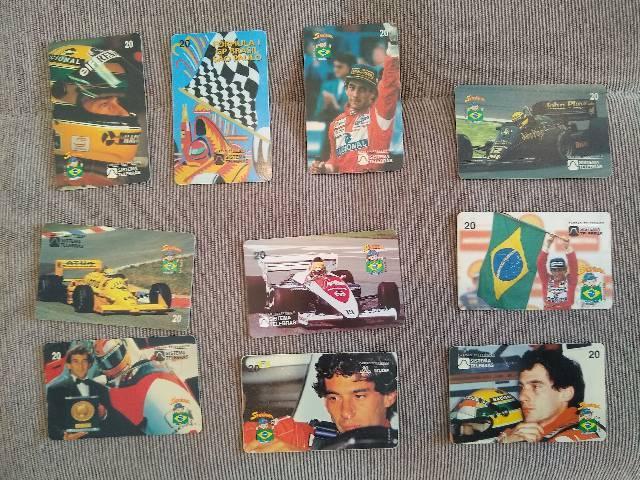 Cartões telefônicos coleção (para colecionadores)