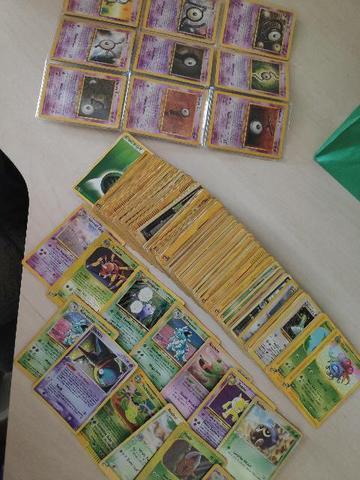 Cartas pokémon 1a e 2a edição