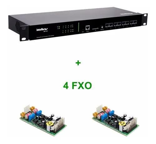 Central ip intelbras cip 850 4 portas fxo + 4 tip 125i + ic3