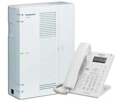 Central pabx ip panasonic kx hts32 4 tr. 8 ram. + hdv 130