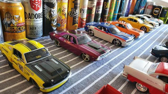 Coleção carrinhos