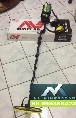 Detector de metais profissional minelab excalibur 2