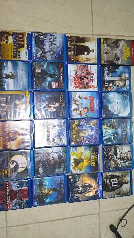 Filmes em blu ray (lote)