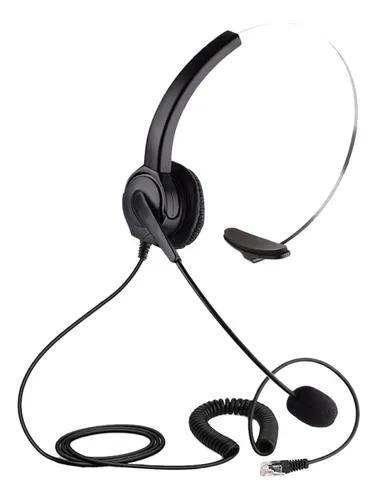 Fone de ouvido de telefone com fio, fone de ouvido de telefo