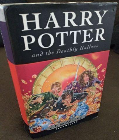 Harry potter e as relíquias da morte - 1ª edição -
