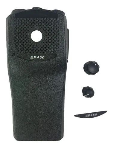 Kit de reparo para motorola ep450 - carcaça e botões