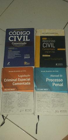 Legislação criminal, código civil, manual de proc. penal