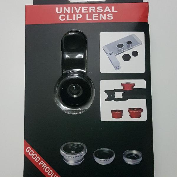 Lentes universal para celular