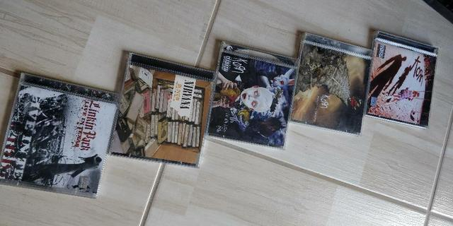 Lote Cd's e VHS's