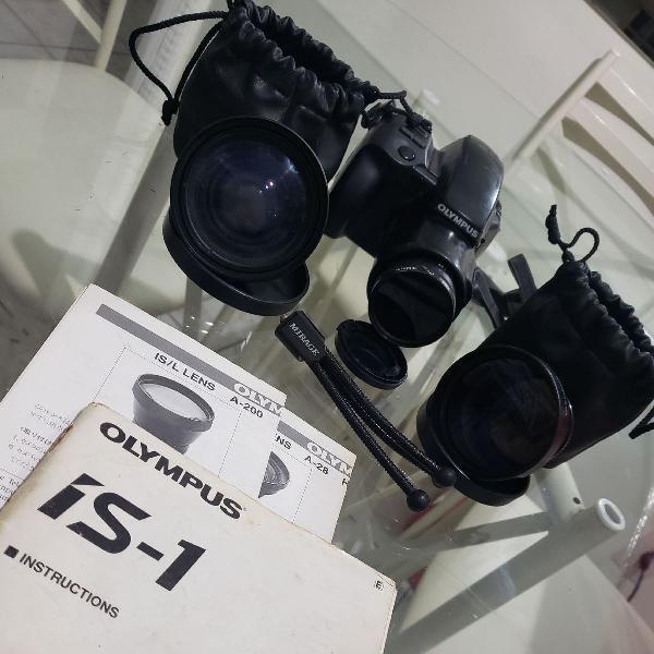 Máquina fotográfica olympus i-s1