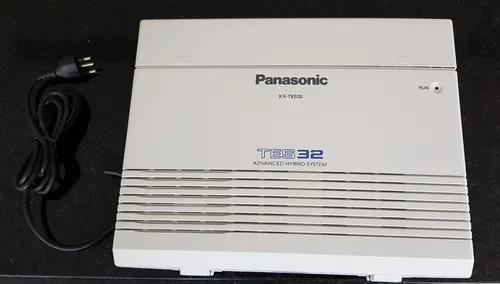 Pabx central telefônica panasonic kx-tes32 - 3 lin. 8