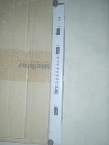 Placa 8 tronco analogico intelbras impacta 94/140/220r