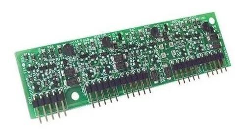 Placa de ramal da modulare i e conecta intelbras 4 ramais